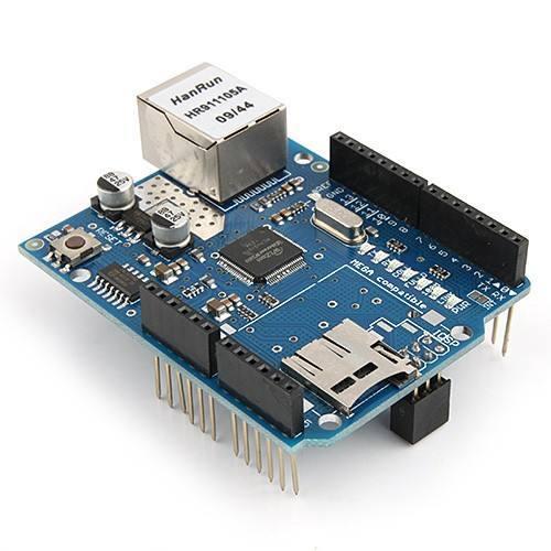 DFRduino Ethernet Shield - DFRobot - Quality Arduino